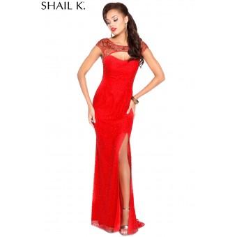 Prachtige Rode jurk. Maat 36