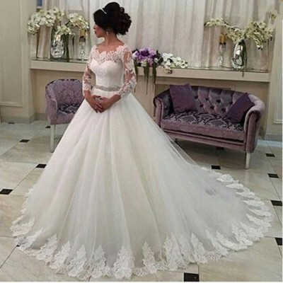 Kledinghoes jurk trouwjurk