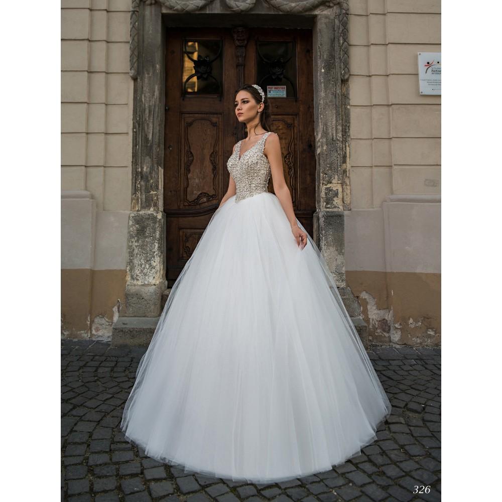 Trouwjurk Bestellen.Bruidsjurk Yvette Maat 34 36