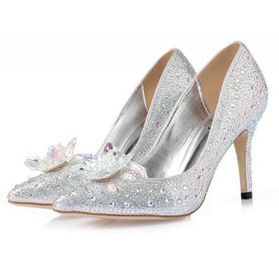 Cinderella trouwschoenen. Maat 37