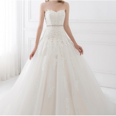 Elegant bruidsjurk. Maat 38,40